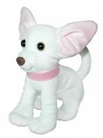 Маленькая мягкая игрушка Собачка Чихуахуа белый 21 см Тигрес (СО-0095)