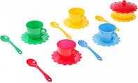 Ромашка Люкс набор посуды 16 предметов желтая сахарница Тигрес (39088-2)