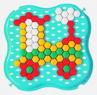 Развивающая игрушка Мозаика мини бирюзовая Тигрес (39112-7)