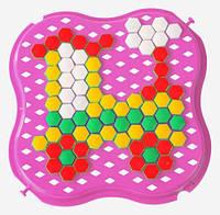 Развивающая игрушка Мозаика мини розовая Тигрес (39112-5)