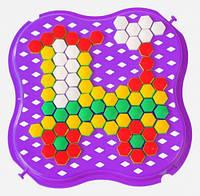 Развивающая игрушка Мозаика мини фиолетовая Тигрес (39112-8)