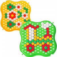 Развивающая игрушка Мозаика желтая и зеленая Тигрес (39113-10)