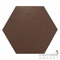 Плитка для ванной Equipe Керамогранит декор Equipe Hexatile Marron Mate 17.5x20 (шестигранник)
