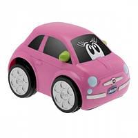 Машинка инерционная Fiat 500 розовая Turbo Touch Chicco (07331.10)