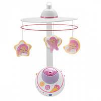 Мобиль проектор на кроватку Волшебные звёздочки розовый цвет Chicco (02429.10), фото 1