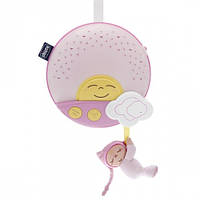 Панель музыкальная на кроватку Sunset розовая Chicco (06992.10)