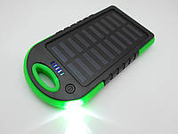 На солнечной батарее Power Bank  20000mAh UKC Smart - портативное зарядное устройство, фонарь, повербанк