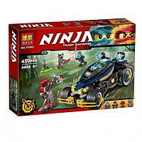 "Конструктор Bela Ninja 10582 (аналог Ninjago 70625 ""Самурай VXL"") 450 деталей, фото 1"