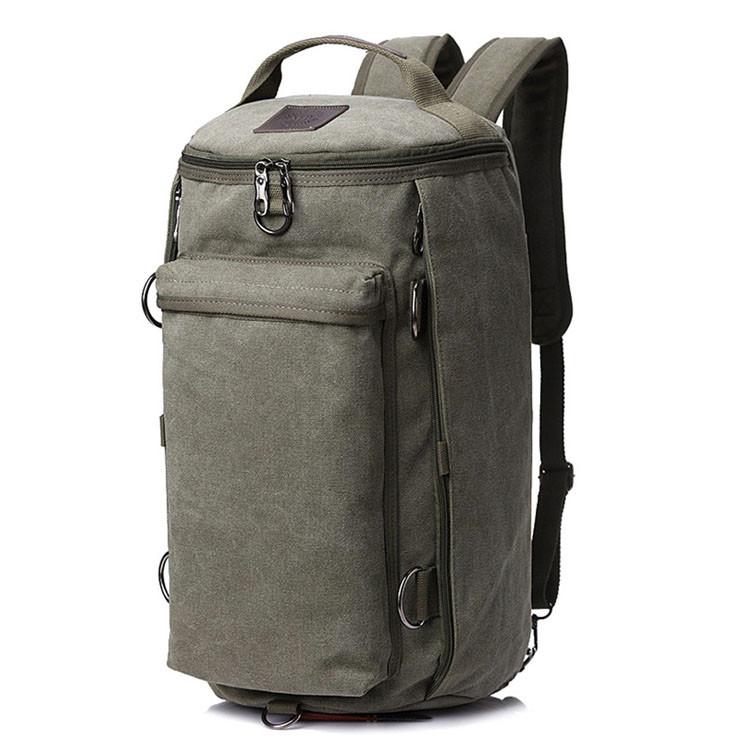 cd67ceacfb8c Универсальная сумка рюкзак мужская. Трансформер. Черный, хаки и зеленый.  Брезент - Рогатка