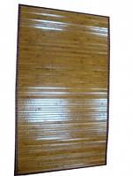 Коврик бамбуковый с рисунком, на подкладке - 70 х 120 см.