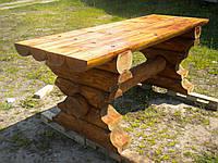 Стол деревянный со сруба 0,72м*2,0м