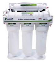 Система обратного осмоса Ecosoft 5-75P с насосом