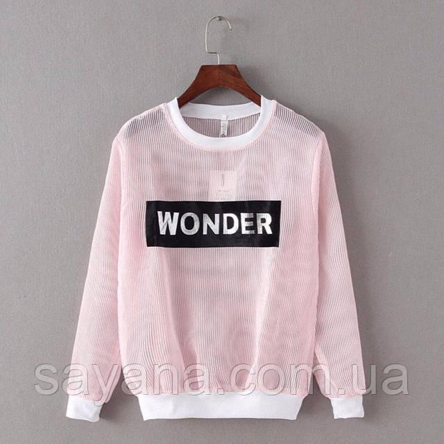 женский летний свитер