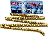 Приводная цепь 530ZVM-X Gold | DID 50(530)ZVM-X G&G - 106ZB