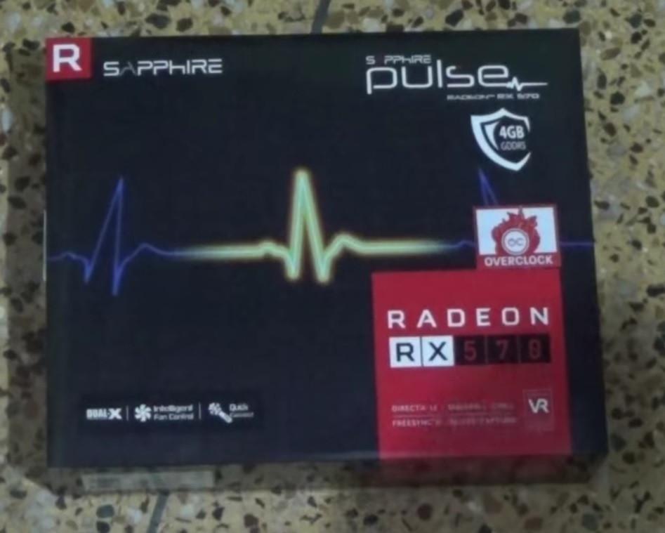 Видеокарта Sapphire Radeon RX 570 4GD5 PULSE (11266-04)