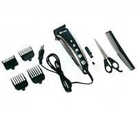 Машинка для стрижки Domotec Plus DT-4607, Машинка для стрижки волос с насадками, Универсальный триммер