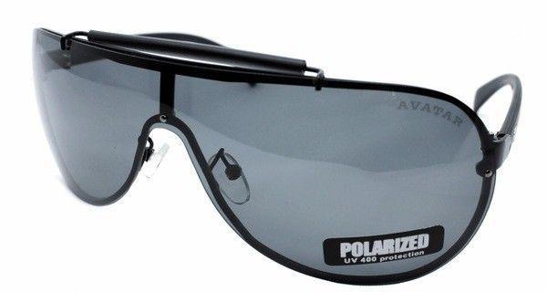 Темные мужские солнцезащитные очки Avatar Polaroid