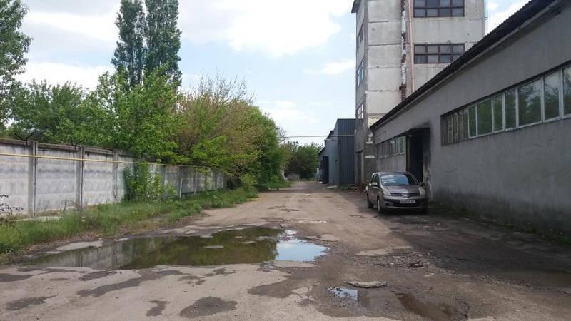 Продажа территории бывшего завода в городе Одесса, Малиновский район, Аэропортовская улица