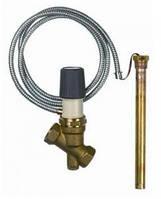 """Защитный термостатический клапан перегрева Duco TSK 3/4"""", датчик 1/2"""" 95°C, щуп 200мм, капилляр 1300мм (арт. 42370)"""