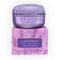 Ультра комфортный дневной крем 45 мл Leganza Lavender from Bulgaria