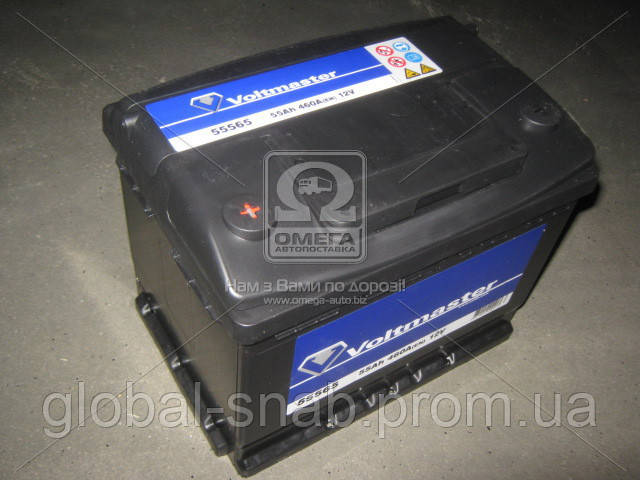 "Аккумулятор   55Ah-12v VOLTMASTER (242х175х190),L,EN460 - ТОВ ""ГЛОБАЛ СНАБ"" в Мариуполе"