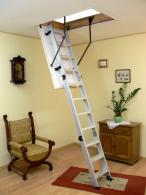 Лестница чердачная Oman Alu Profi Extra (120x70) H280