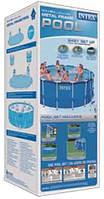 Круглый каркасный бассейн Metal Frame Pool Intex 28700 (Интекс 28200) KK