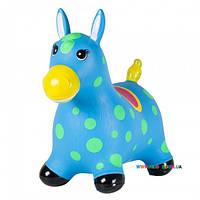 """Детский прыгун """"Пятнистый пони"""", голубой John JN59021B"""