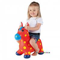 """Детский прыгун """"Пятнистый пони"""", красный John JN59021R"""