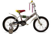 "Велосипед детский Premier Enjoy 16"" White"