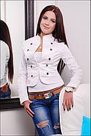 Женский укороченный пиджак 2222IR