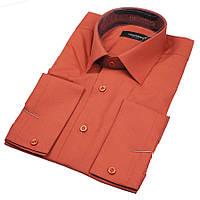 Мужская приталенная рубашка Сорочка Negredo 83 Slim
