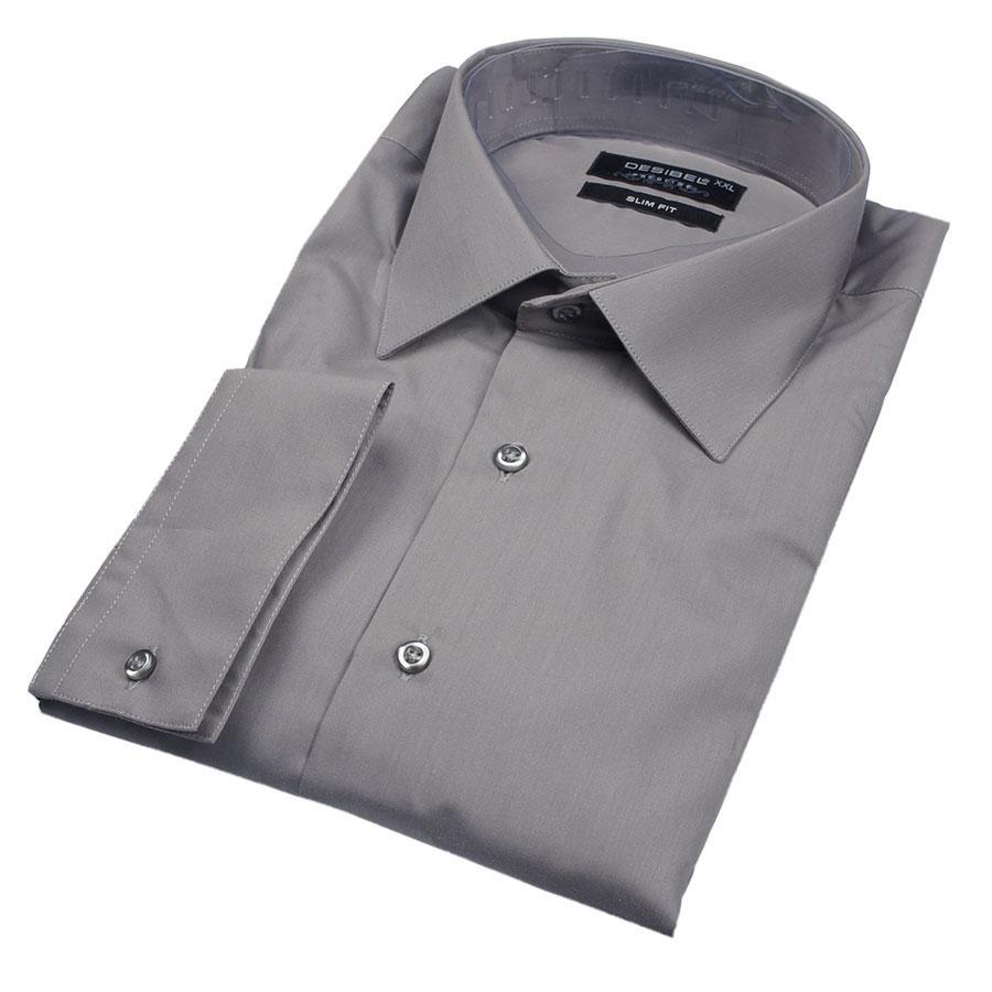 Рубашка Negredo 29062 Slim серая