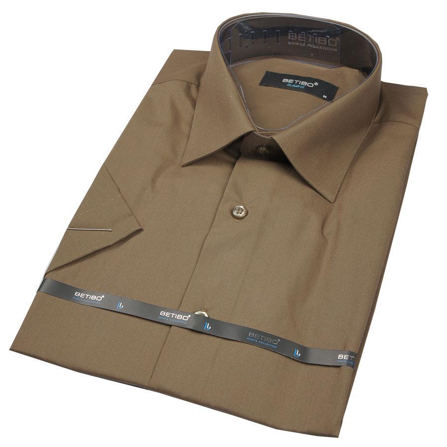 Рубашка мужская 25047 Slim