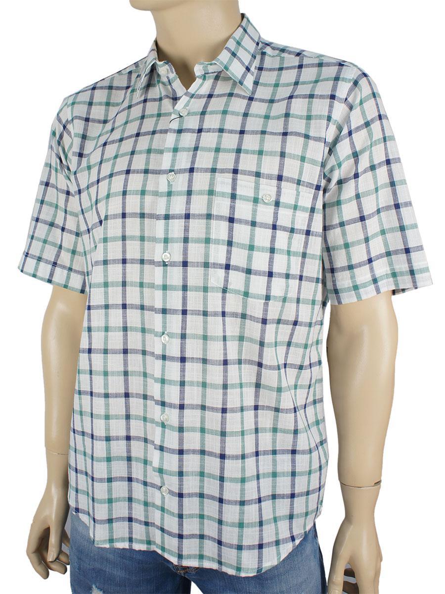 Мужская рубашка Micele Placido клетка разные цвета