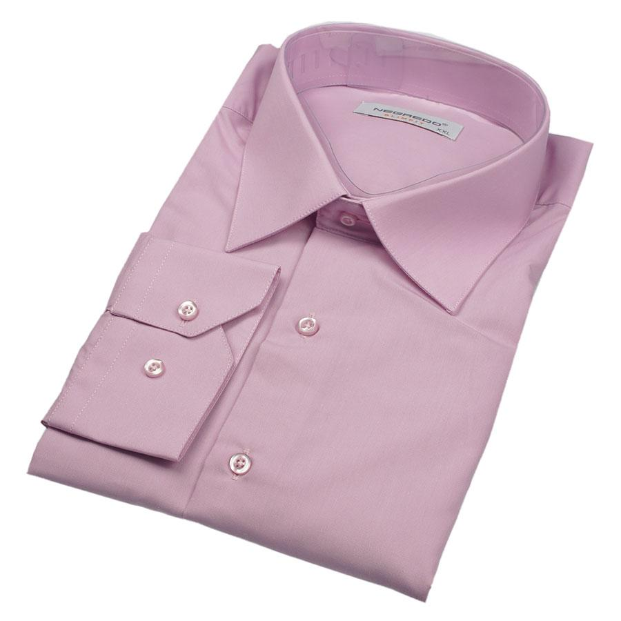 Рубашка мужская Negredo 31140 Slim однотонная приталенная