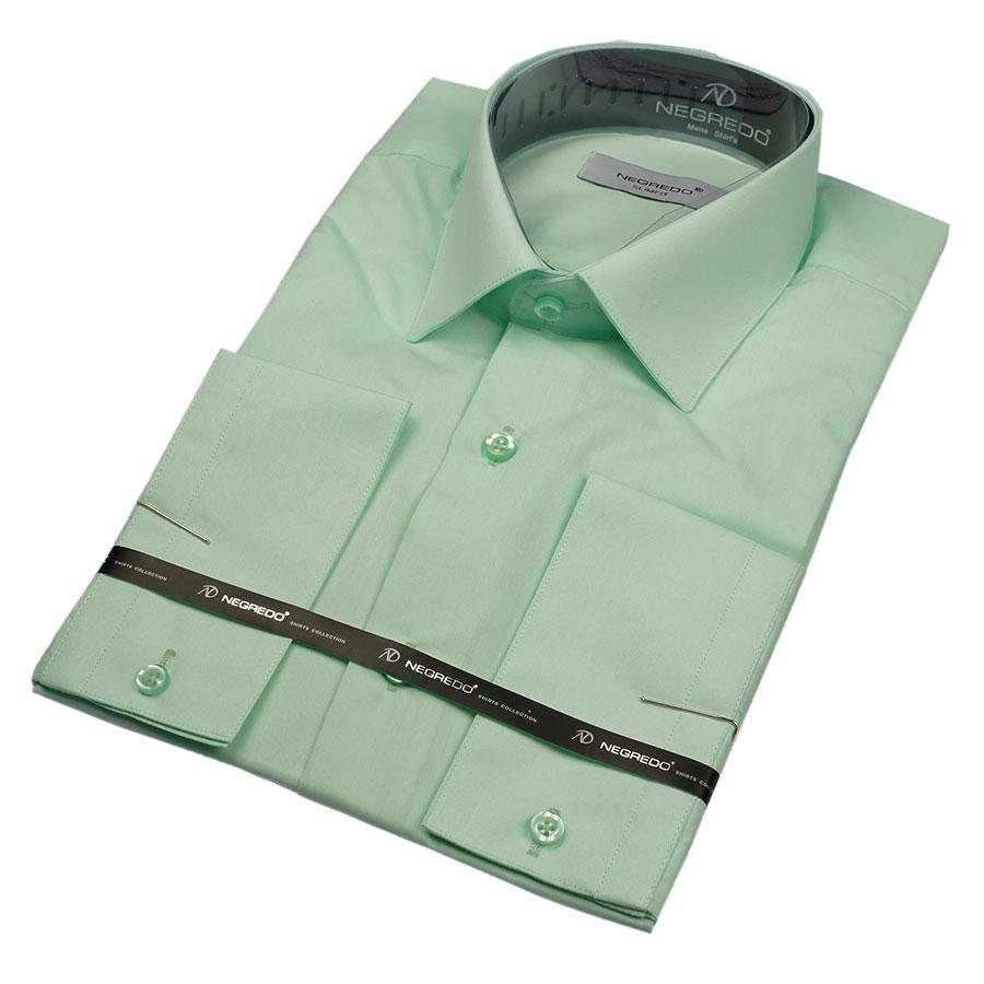 Мужская рубашк Negredo 27256 Slim а приталенная