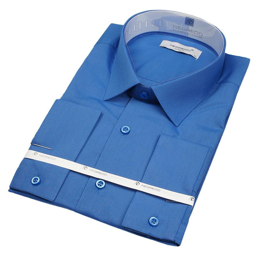 Рубашка мужская приталенная Negredo 30320 Slim