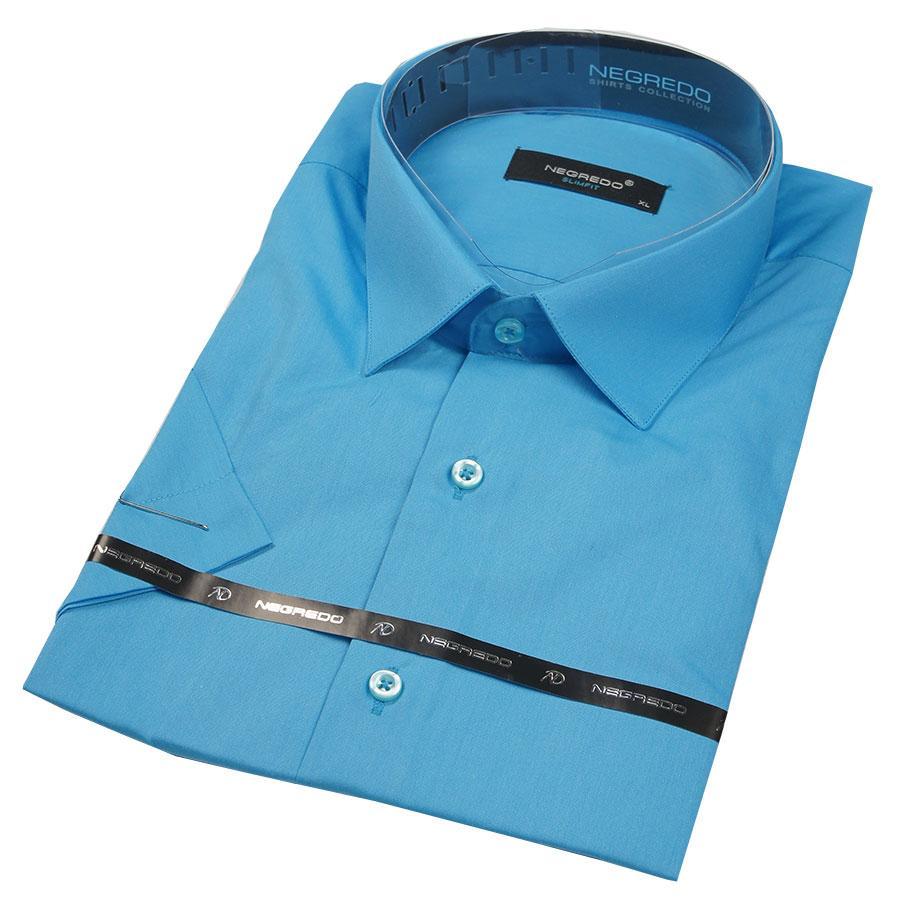 Мужская рубашка Negredo 28046 Slim