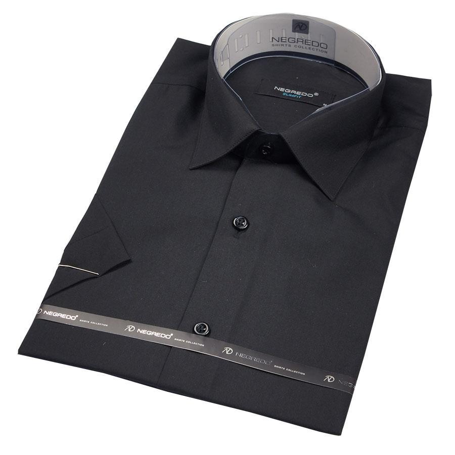 Рубашка мужская Negredo Black Slim