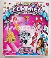 Набор конструктор-бусины для плетения - Сommies Make Crystal Creations