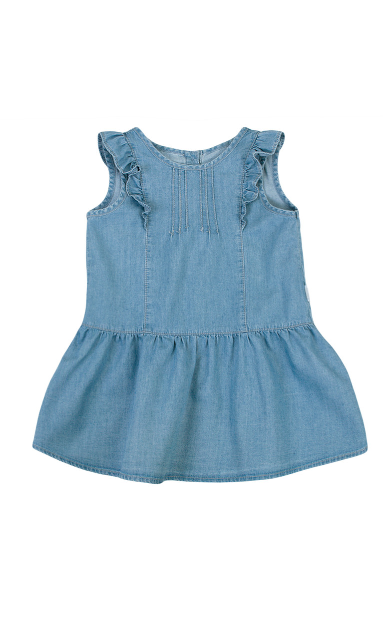 c89eb3407c7 Джинсовое платье на малышку ТМ Бемби - ModaKids - одежда для новорожденных  и детей до 14лет