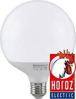 "Лампа ШАР  SMD LED 16W  1400lm  Е27  G95  4200K/6400K ""GLOBE-16"""