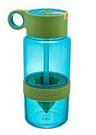 Бутылка для воды с поилкой для самодельного лимонада (Зеленая), фото 1