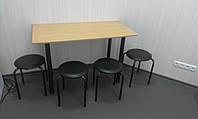 Стол для офисной столовой ( комплект со стульями)
