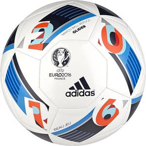 Футбольный мяч adidas UEFA EURO 2016 GLIDER (артикул: AC5419)