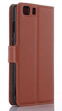 Кожаный чехол-книжка для Doogee X5 / X5 Pro красный, фото 3