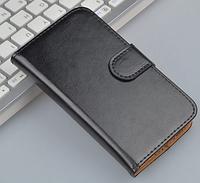 Кожаный чехол-книжка для Samsung galaxy j1 mini J105 черный