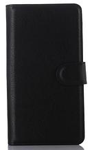 Шкіряний чохол-книжка для Asus Zenfone Max ZC550KL чорний