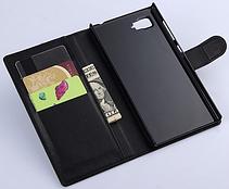 Стильный чехол-книжка для Lenovo vibe Z2 черный, фото 2